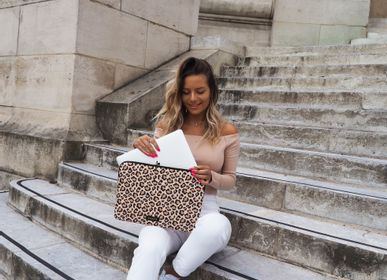 "Travel accessories - Laptop sleeve Macbook 13"": Savanna Leopard - CASYX"
