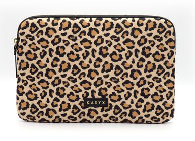 Clutches - Laptop sleeve iPad: Savanna Leopard - CASYX