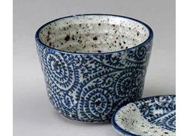 Ceramic - Japanese Soba Choko Cup - SHIROTSUKI / AKAZUKI JAPON
