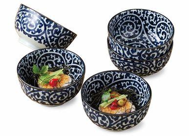 Ceramic - Japanese bowl set - SHIROTSUKI / AKAZUKI JAPON