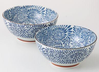 Céramique - Bol japonais en set - SHIROTSUKI / AKAZUKI JAPON