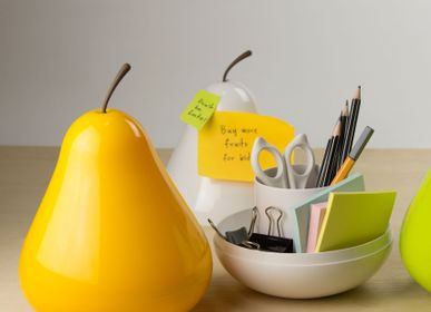 Decorative objects - Pear Pod : Everyday Houseware Eco living collection 100% recyclable. - QUALY DESIGN OFFICIAL