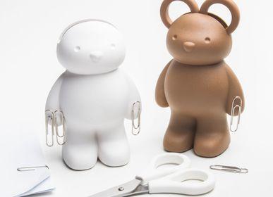 Cadeaux - Ciseaux de lapin et porte-clip: Collection de papeterie - QUALY DESIGN OFFICIAL