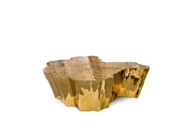 Coffee tables - EDEN Gold Center Table - BOCA DO LOBO