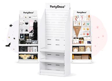 Boite de rangement - Support papier, blanc, 58x160x40cm - PARTYDECO
