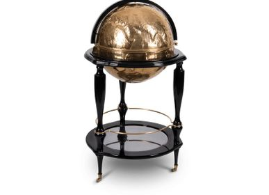 Unique pieces - EQUATOR GLOBE Gold Bar  - BOCA DO LOBO