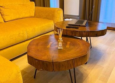 Hotel rooms - Solid Wood Coffee Table Set - MASIV_WOOD