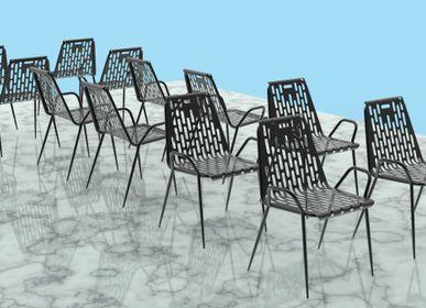 Fauteuils de jardin - Chaise de jardin Nasim - NAHALSAN/PARAX