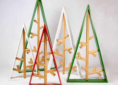 Objets de décoration - Structure triangulaire géométrique en chêne de Bourgogne - MR.LOUIS