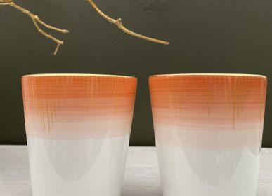 Tasses et mugs - Ensemble de deux gobelets gm Saulire - GARANCE CRÉATIONS