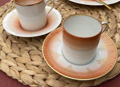 Tasses et mugs - Ensemble de deux tasses à café Saulire - GARANCE CRÉATIONS