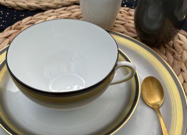 Tasses et mugs - Ensemble de deux déjeuners Azur - GARANCE CRÉATIONS