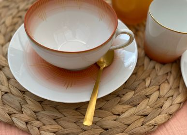 Tasses et mugs - Ensemble de deux déjeuners Saulire - GARANCE CRÉATIONS