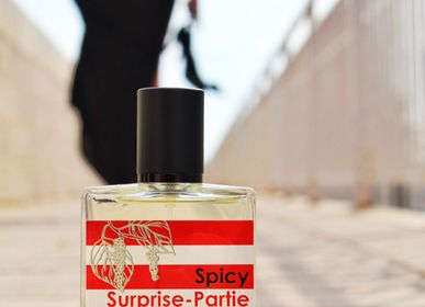 Fragrance for women & men - Spicy Surprise-Partie - Eau de Toilette Citrus - RIVAE