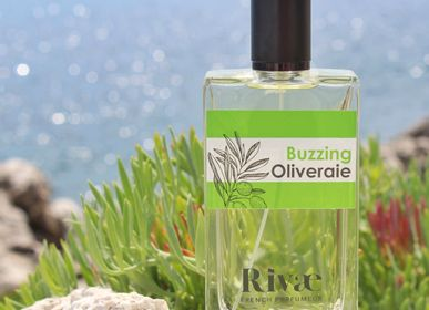 Fragrance for women & men - Buzzing Oliveraie - olive wood and citrus eau de toilette - RIVAE