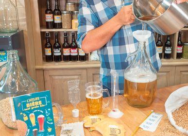 Vin - Coffret Brassage tout grain malt bio 4L bière blonde Bio - RADIS ET CAPUCINE