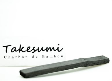 Tea and coffee accessories - Bamboo charcoal stick - BIJIN-TAKESUMI