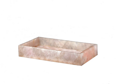 Installation accessories - Taj rose Quartz vanity tray - MIKE + ALLY