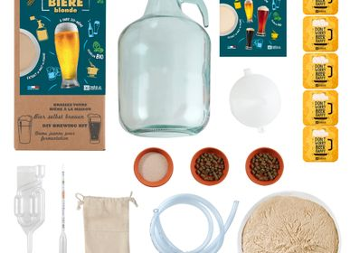 Wine accessories - Malt Powder Brewing Box 4L Blonde Beer - RADIS ET CAPUCINE