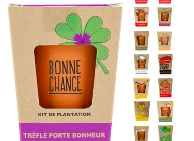 Accessoires de jardinage - Collection kit message avec graines. - RADIS ET CAPUCINE