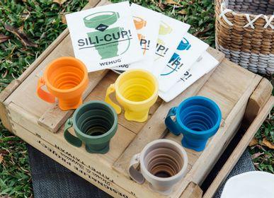 Mugs - On-the-go Foldable Silicone cup, mug, bottle - WEMUG