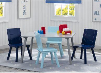 Bureaux - Table rectangulaire et 4 chaises pour enfant - PETIT POUCE FACTORY