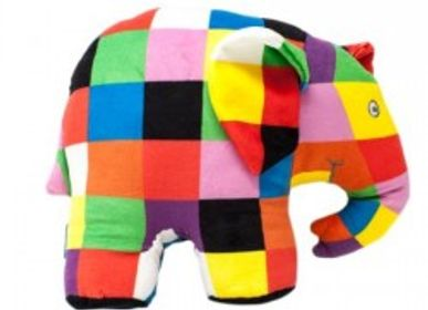 Soft toy - Elmer sound plush - PETIT POUCE FACTORY