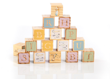 Toys - Wooden Cubes Guess How Much I Love You - PETIT POUCE FACTORY