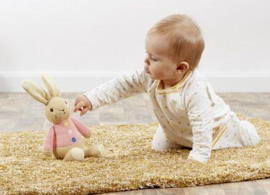 Peluches - Peluche Crochet Pierre Lapin Original - PETIT POUCE FACTORY
