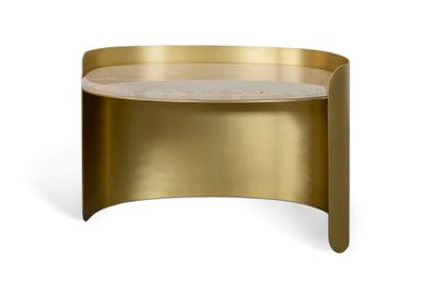Tables pour hotels - FRANCIS SCOTT OVAL | Table d'appoint - ESSENTIAL HOME