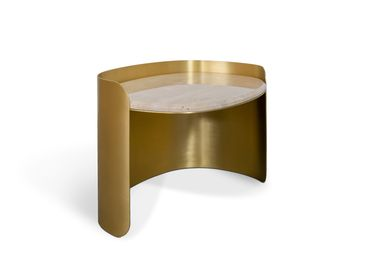 Tables for hotels - FRANCIS SCOTT OVAL | Side Table - ESSENTIAL HOME