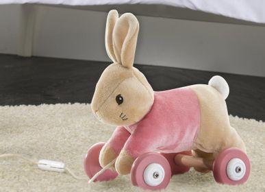 Toys - Pierre Rabbit Pull Along Toy - PETIT POUCE FACTORY