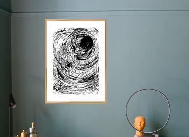 Affiches - Impression d'art The Eye  - METTEHANDBERG ART PRINTS