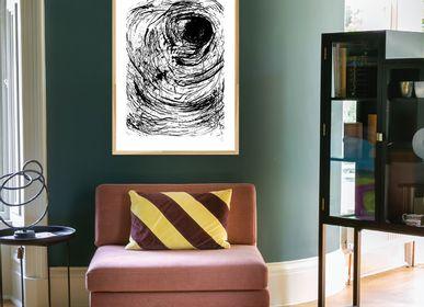 Poster -  The Eye Art print - METTEHANDBERG ART PRINTS