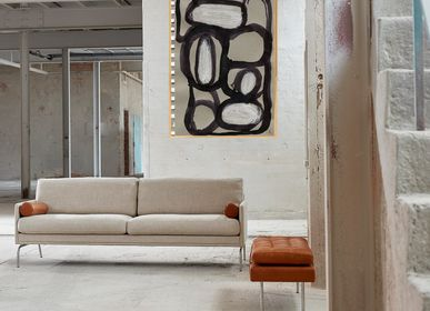 Aménagements - Impression d'art Abstract on Grey - METTEHANDBERG ART PRINTS