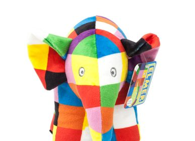 Soft toy - Elmer 23.5cm Soft Toy - PETIT POUCE FACTORY