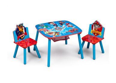 Tables and chairs for children - Table with storage and two chairs Paw Patrol - PETIT POUCE FACTORY