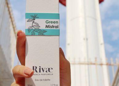 Parfums pour soi et eaux de toilette - Green Mistral - Eau de toilette Agrumes et Herbes Aromatiques - RIVAE