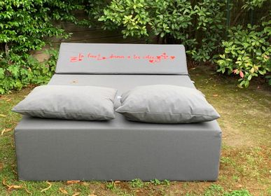 Deck chairs - LOVE | Outdoor bed - COZIP