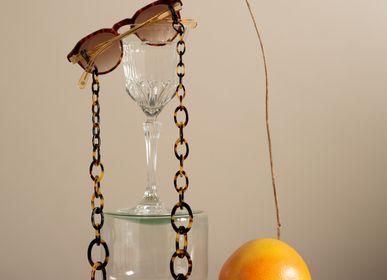 Bijoux - Smiley Chain | Écaille de tortue | Chaîne de lunettes - ORRIS LONDON