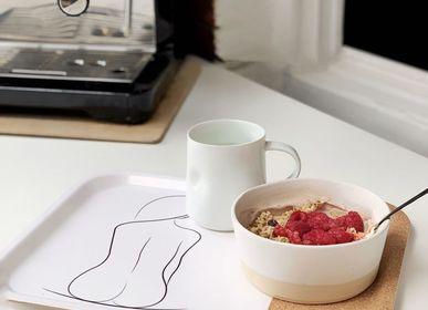 Torchons textile - Sustainable Kitchen Collection Trays - METTEHANDBERG ART PRINTS
