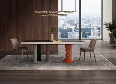 Tables - NICOLE dining table - GUAL DESIGN