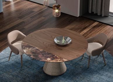 Dining Tables - CAMERON round dining table - GUAL DESIGN