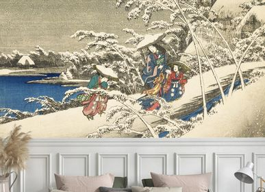 Wallpaper - Fuite enneigée Panel - ETOFFE.COM