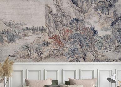 Wallpaper - Forêt Givrée Panel - ETOFFE.COM