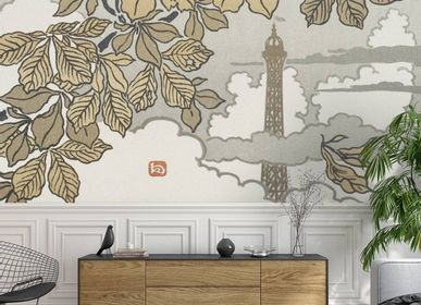 Wallpaper - Tour Eiffel Panel - ETOFFE.COM