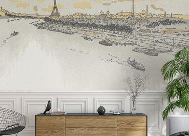 Papiers peints - Panneau Point du Jour - ETOFFE.COM