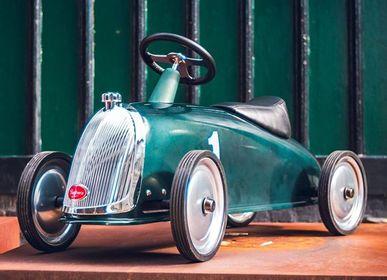 Toys - Rider Gentleman, metal baby ride-ons - BAGHERA