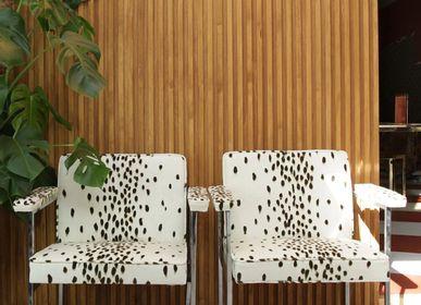 Tissus d'ameublement - Tissu Tottenham Dalmatian - ETOFFE.COM