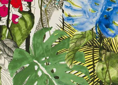 Tissus d'ameublement - Tissu Jardin Exo'Chic - ETOFFE.COM